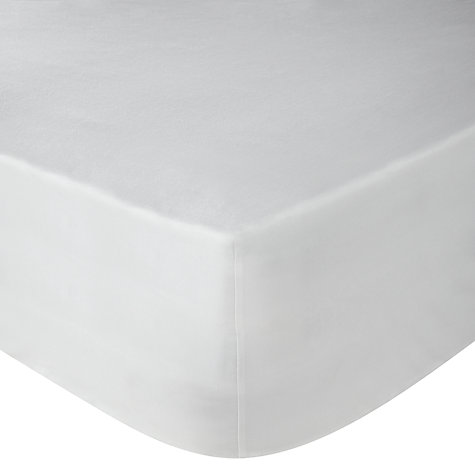 Buy John Lewis 400 Thread Count Cotton Satin Fitted Sheet Online at johnlewis.com