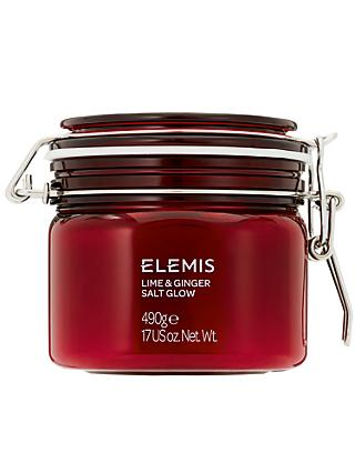 Elemis Lime and Ginger Salt Glow, 490g