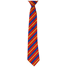 Buy St Peter's Catholic School Unisex School Tie, Red Multi Online at johnlewis.com