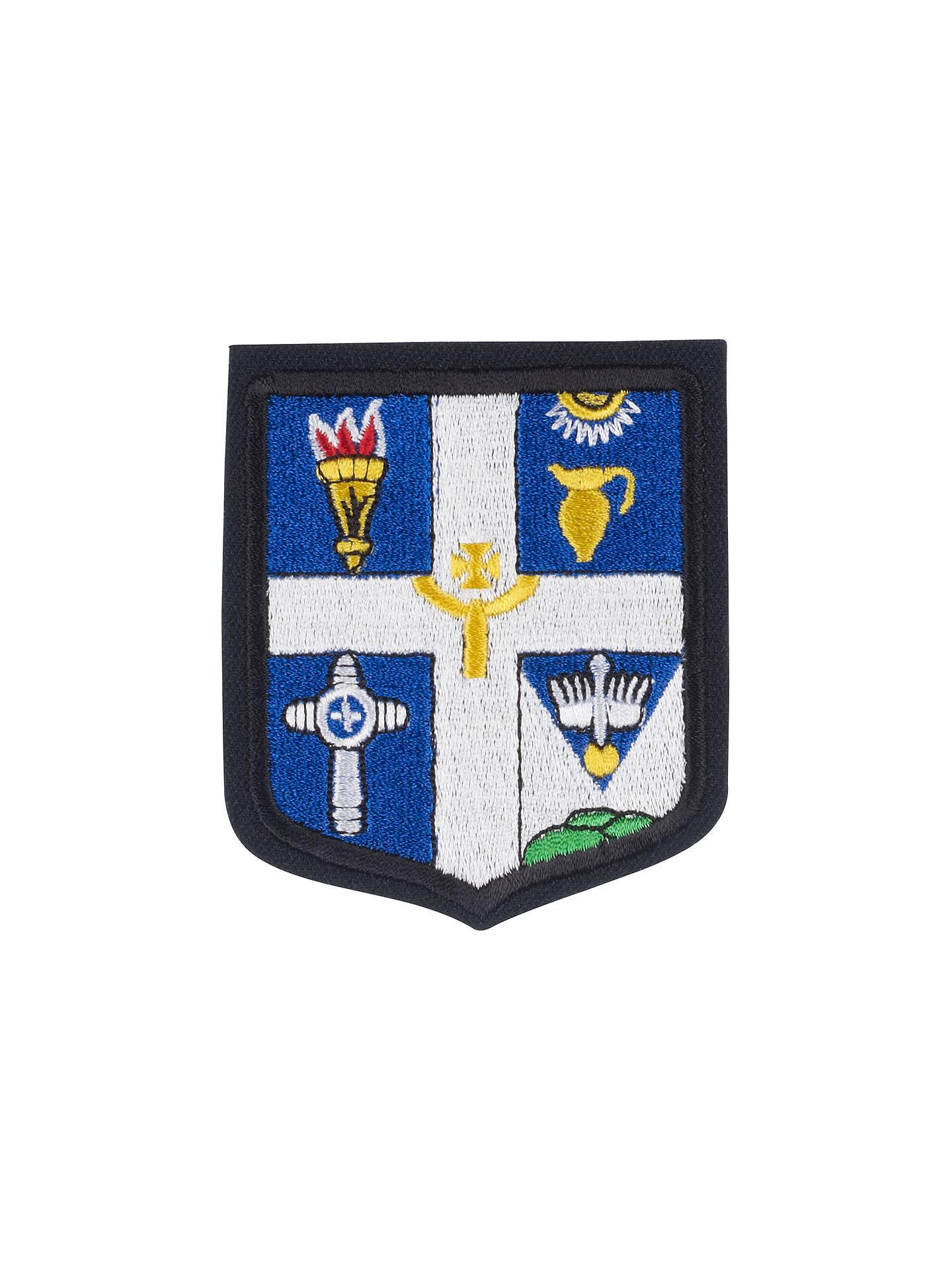 St Augustine's High School Unisex Blazer Badge, Multi at