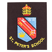 Buy St Peter's Catholic School Unisex Blazer Badge, Multi Online at johnlewis.com