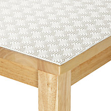 Buy John Lewis Table Protector, White, 140cm Online at johnlewis.com