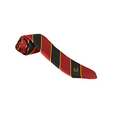Buy St Paul's RC High School Unisex Junior School Tie, Red/Black Online at johnlewis.com