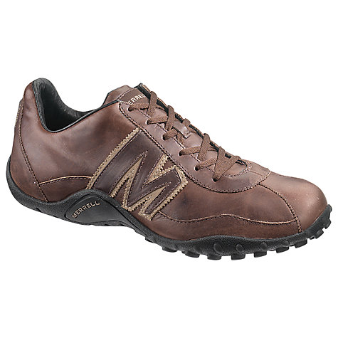 Buy Merrell Sprint Blast Leather Trainers, Espresso Online at johnlewis.com