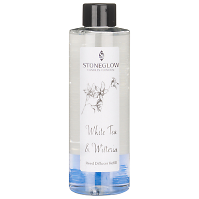 Stoneglow Diffuser Refill, White Tea and Wisteria, 200ml