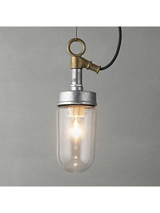 Davey Lighting Well Glass Ceiling Pendant Cord