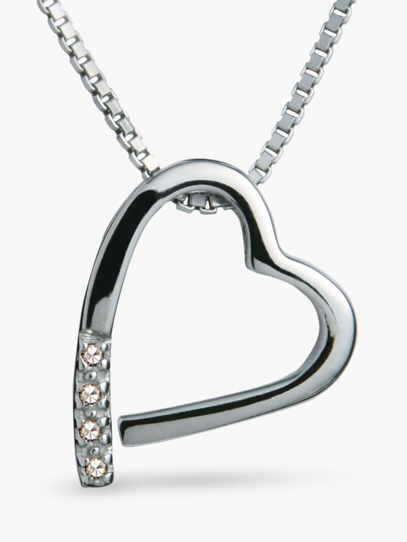 Hot Diamonds Hot Diamonds Open Heart Memories Pendant Necklace