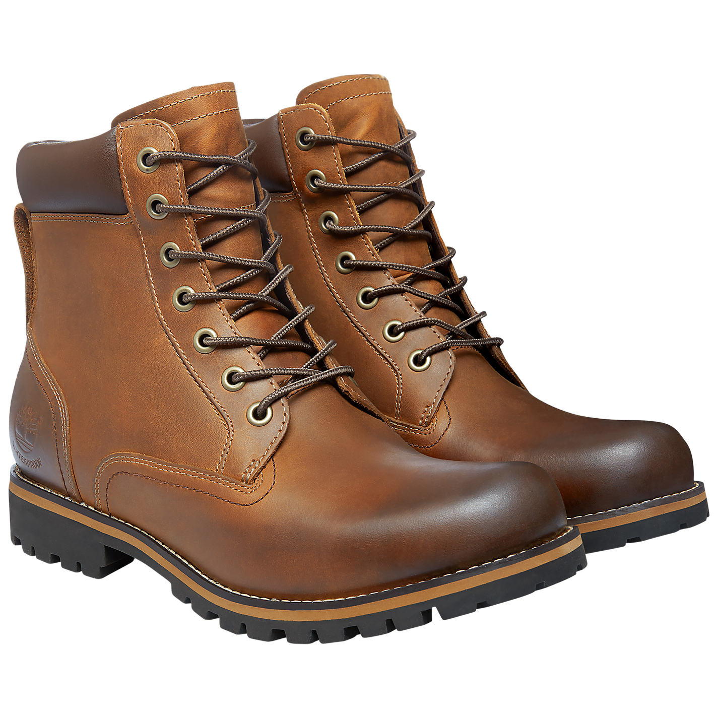 Timberland Earthkeepers Rugged 6 Inch Waterproof Plain Toe Boots Online At Johnlewis Com
