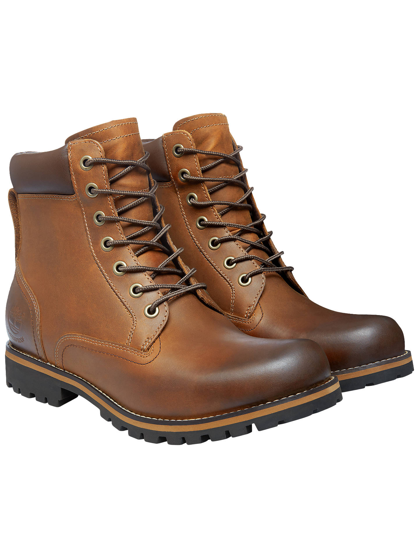 Timberland Earthkeepers Rugged 6 Inch Waterproof Plain Toe Boots Copper Roughcut 10 Online