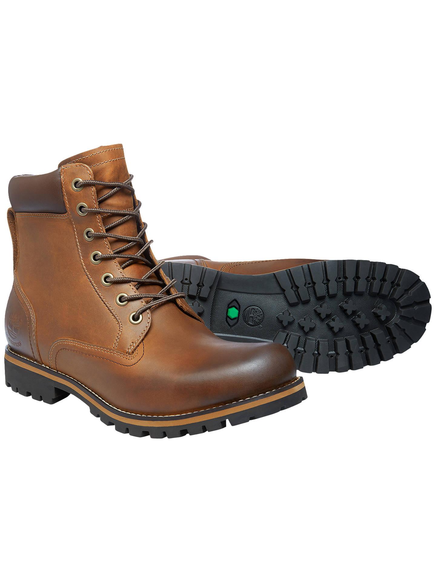 Dando Miniatura Secretar  Timberland Earthkeepers Rugged 6-Inch Waterproof Plain Toe Boots at John  Lewis & Partners