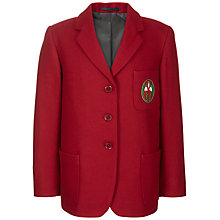 Buy Ashdell Preparatory School Girls' Blazer, Red Online at johnlewis.com