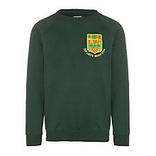 Buy Our Lady's Bishop Eton Primary School Unisex Infants Sweatshirt, Bottle Green Online at johnlewis.com