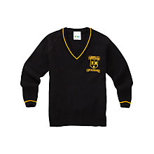 Buy Childwall C of E Primary School Boys' Pullover, Black Online at johnlewis.com