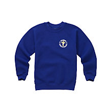 Buy Halewood Church of England School Unisex Sweatshirt, Blue Online at johnlewis.com