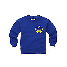 Buy Longmoor Community Primary School Boys' Sweatshirt, Royal Blue Online at johnlewis.com