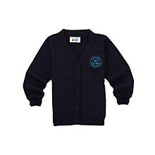 Buy Melling Primary School Girls' Cardigan, Navy Online at johnlewis.com