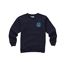Buy Melling Primary School Boys' Sweatshirt, Navy Online at johnlewis.com