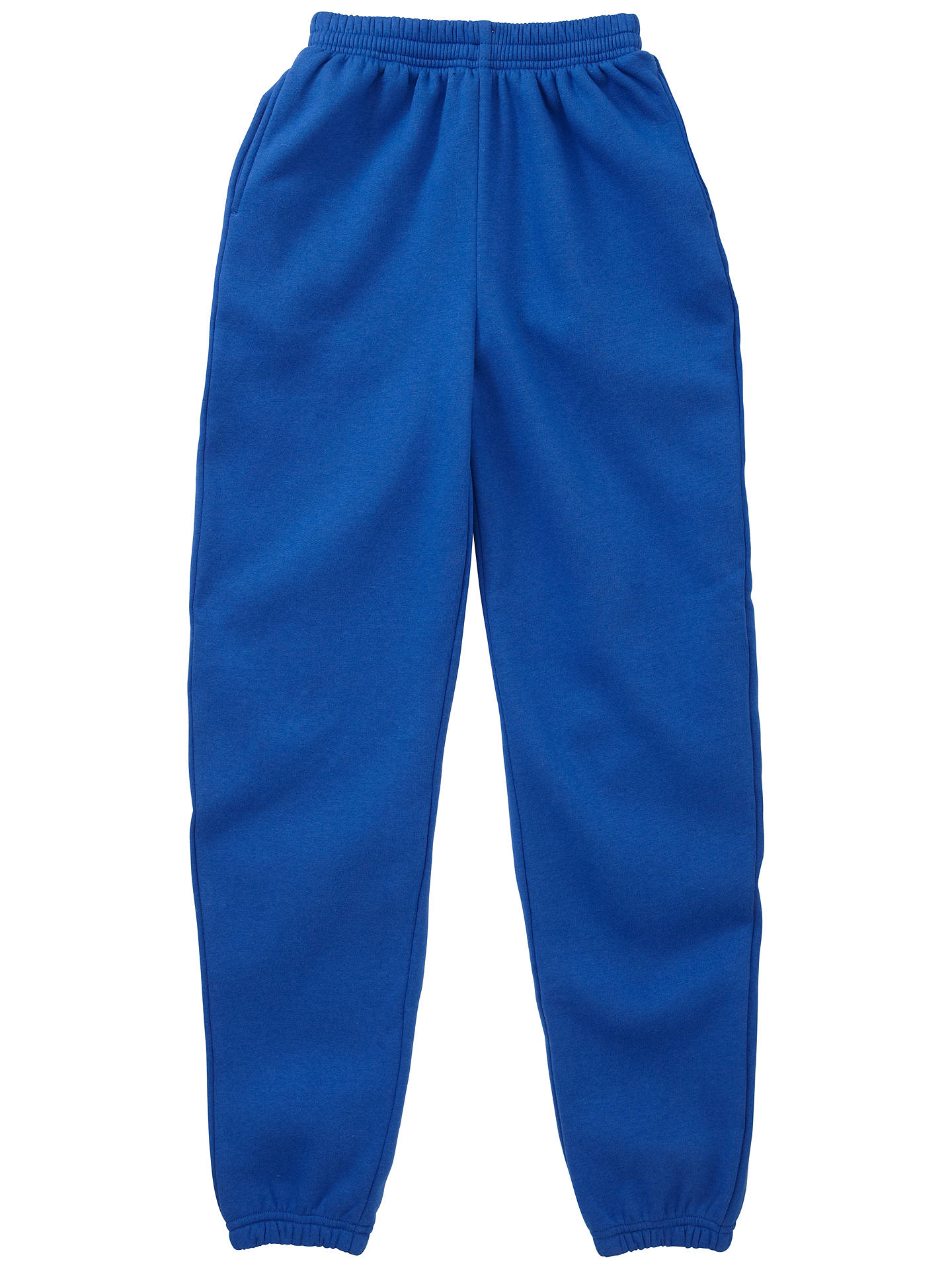 20132dcb886 Buy School Unisex Jogging Bottoms, Royal Blue, Age 2/3 Online at johnlewis