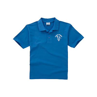 Product photo of St bede s catholic high school unisex years 10  11 sports polo shirt