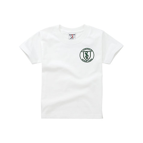 Buy St Laurence's Catholic Primary School Unisex Sports T-Shirt Online at johnlewis.com