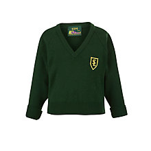 Buy St Laurence's Catholic Primary School Unisex Pullover, Green Online at johnlewis.com