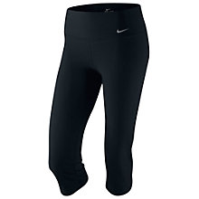 Buy Nike Legend Slim Capri Tights, Black Online at johnlewis.com