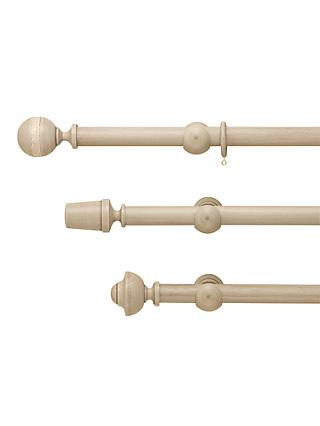 John Lewis & Partners Grey Curtain Poles, Dia.35mm