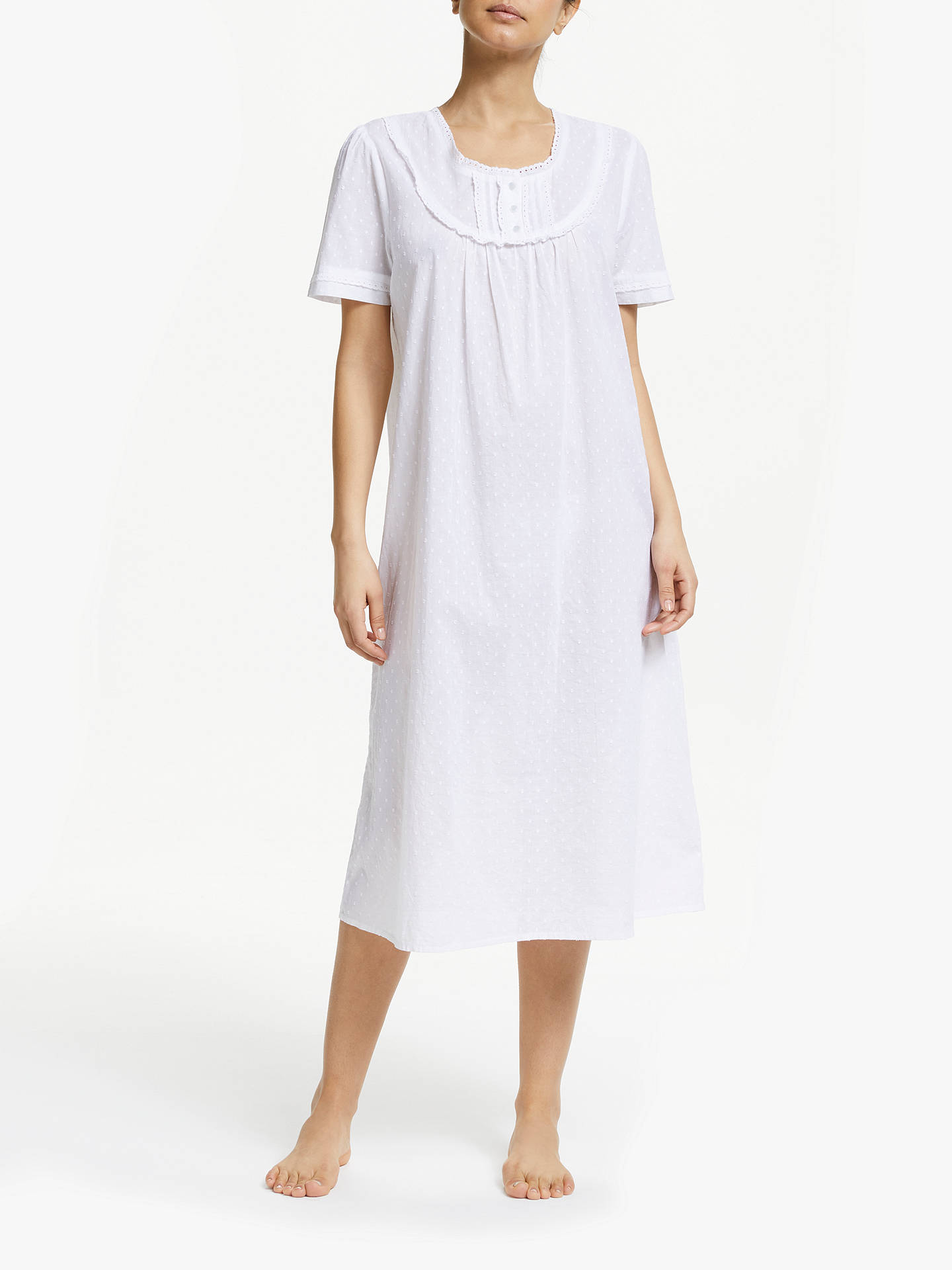 995b4a32a0 John Lewis   Partners Pilli Cotton Nightdress at John Lewis   Partners