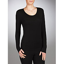 Buy John Lewis Long Sleeve Heat Generating Thermal Top Online at johnlewis.com