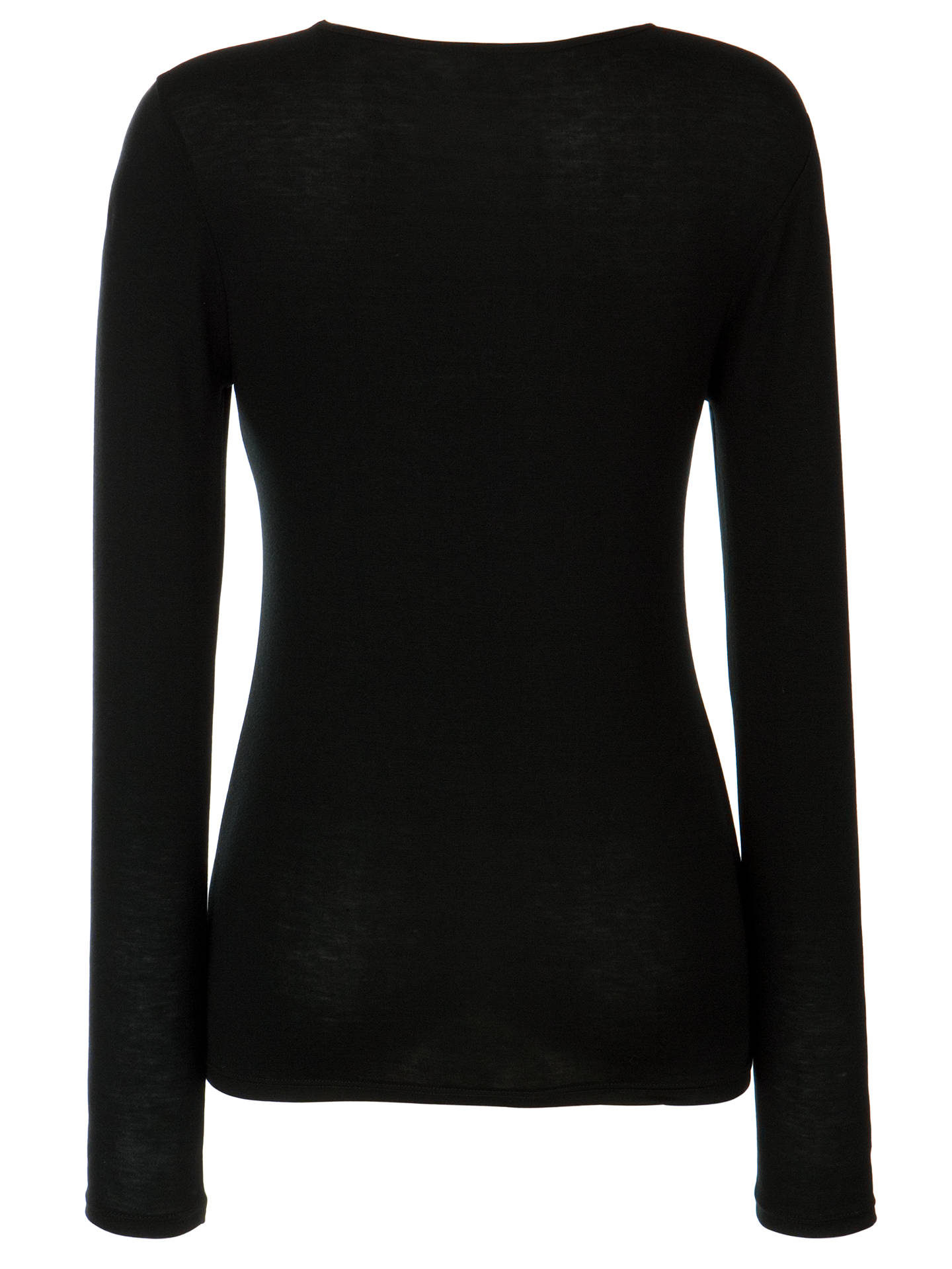 BuyJohn Lewis & Partners Long Sleeve Heat Generating Thermal Top, Black, 8-10 Online at johnlewis.com