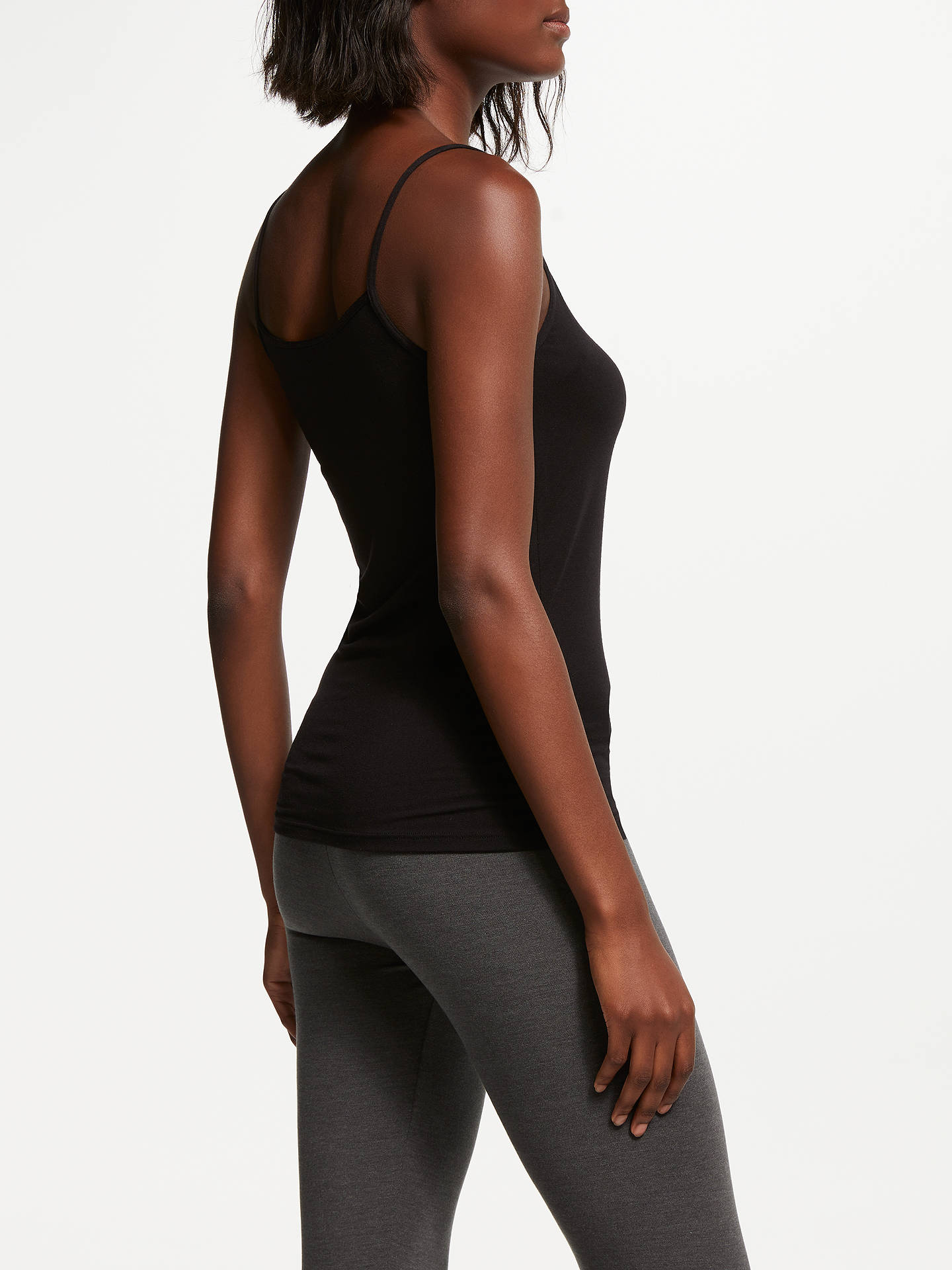 BuyJohn Lewis & Partners Heat Generating Thermal Camisole, Black, 8-10 Online at johnlewis.com