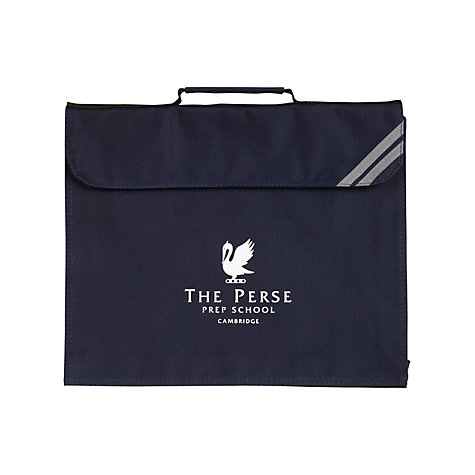 Buy The Perse Prep School Book Bag, Navy Online at johnlewis.com