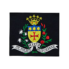 Buy St Julie's Catholic High School Girls' Blazer Badge Online at johnlewis.com
