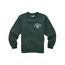 Buy Plantation County Primary School Boys' Sweatshirt, Green Online at johnlewis.com
