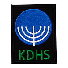 Buy King David High School Galil House Unisex Blazer Badge, Multi Online at johnlewis.com
