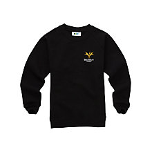 Buy Bucksburn Academy Unisex Crew Neck Sweatshirt, Black Online at johnlewis.com