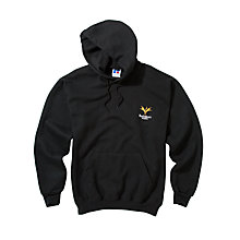 Buy Bucksburn Academy Unisex Hooded Sweatshirt, Black Online at johnlewis.com