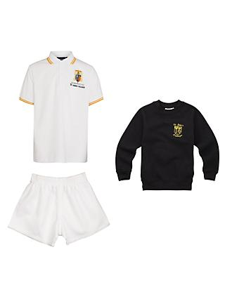 St John's College Girls' Infant & Junior Sports Uniform (R05 to R11)