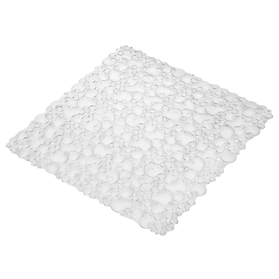 Product photo of John lewis bubbles square bath mat