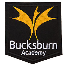 Buy Bucksburn Academy Unisex Blazer Badge, Multi Online at johnlewis.com