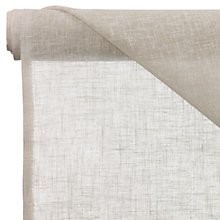 Buy John Lewis Metro Unheaded Voile Fabric, Natural, Drop 150cm Online at johnlewis.com