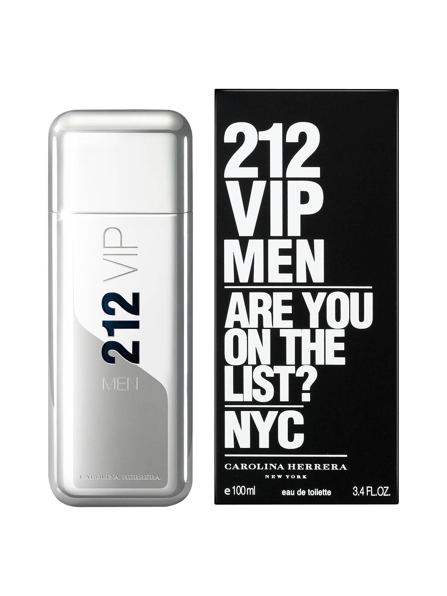 cheap for discount 6d746 d2dbd Buy Carolina Herrera 212 VIP Men s Eau de Toilette, 100ml Online at  johnlewis.com