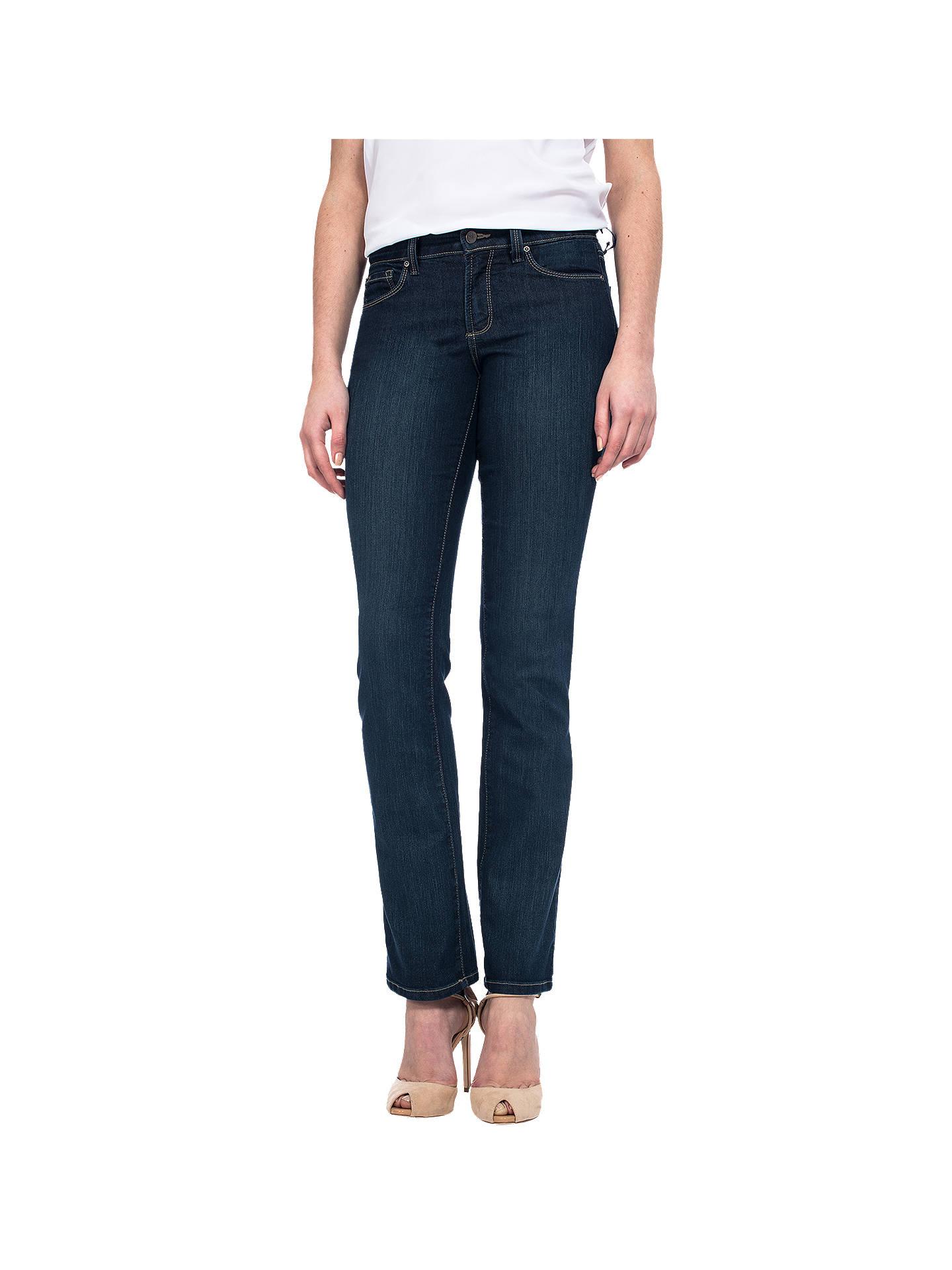 97a1b82086f Buy NYDJ Marilyn Straight Leg Jeans, Indigo, 6S Online at johnlewis.com ...