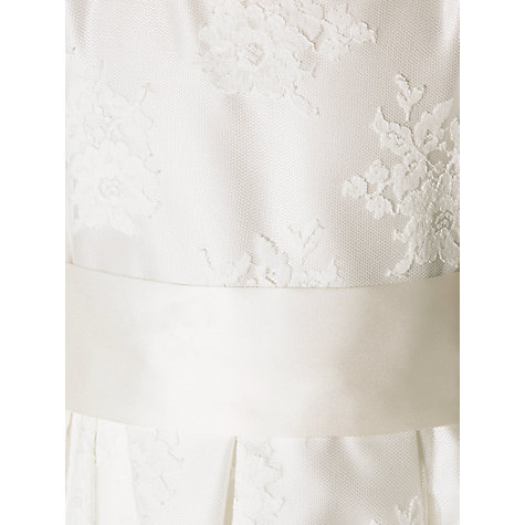 Buy John Lewis Girls' Empire Line Lace Bridesmaid Dress, Ivory Online at johnlewis.com