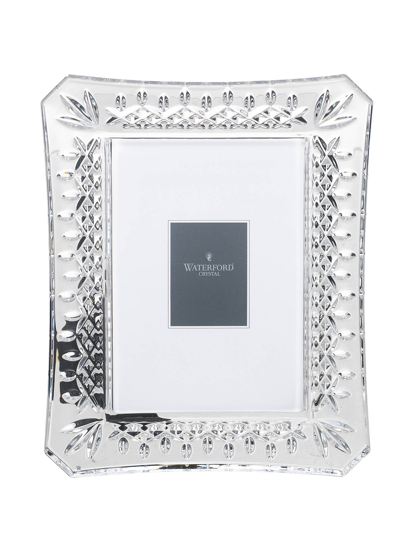 Waterford Crystal Lismore Photo Frame at John Lewis & Partners