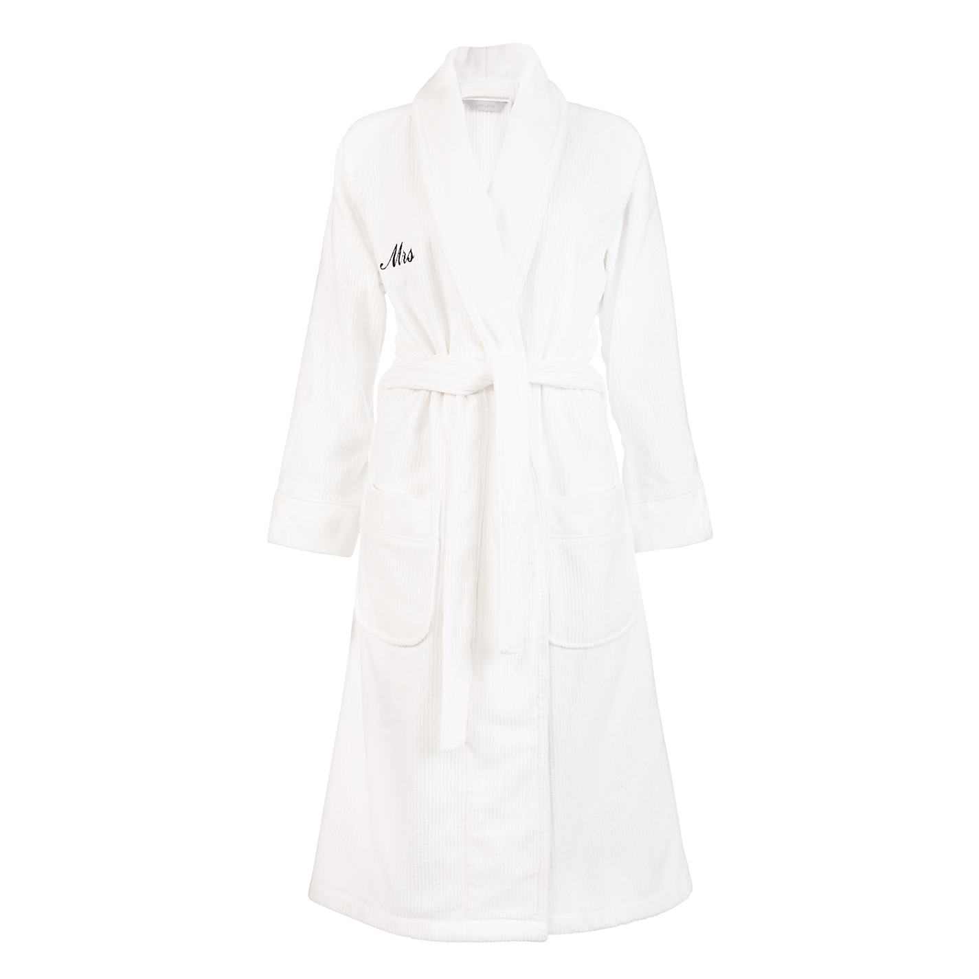 Contemporary Mens White Hooded Dressing Gown Motif - Wedding and ...