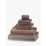 John Lewis Spirit Stripe Towels, Puritan