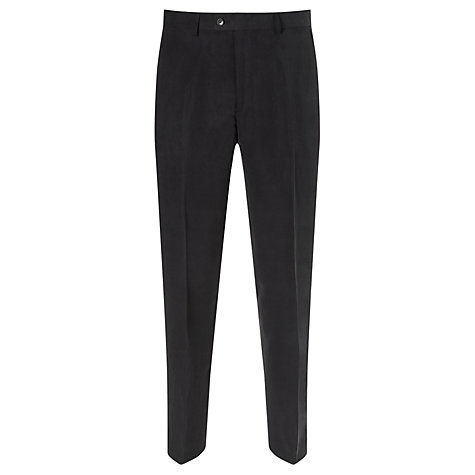 Buy John Lewis Silk and Linen Suit Trousers, Navy Online at johnlewis.com
