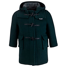 Buy Gloverall School Duffle Coat, Green Online at johnlewis.com