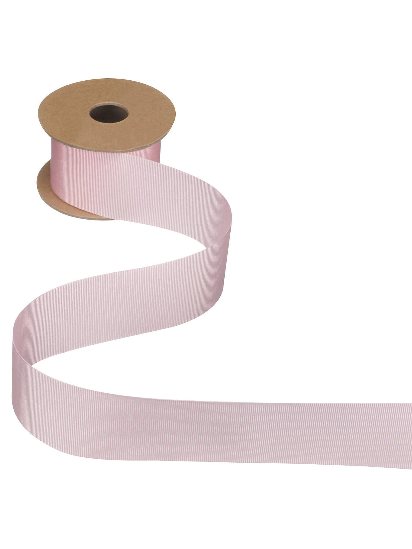 Buy John Lewis & Partners Grosgrain Ribbon, 5m, Pink, 10mm Online at johnlewis.com